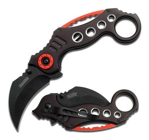 navaja cuchillo karambit tactico claw negra / lhua store