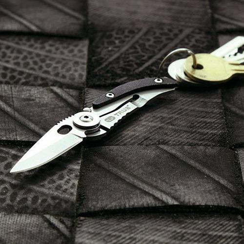 navaja cuchillo llavero skeletonknife. original-true utility