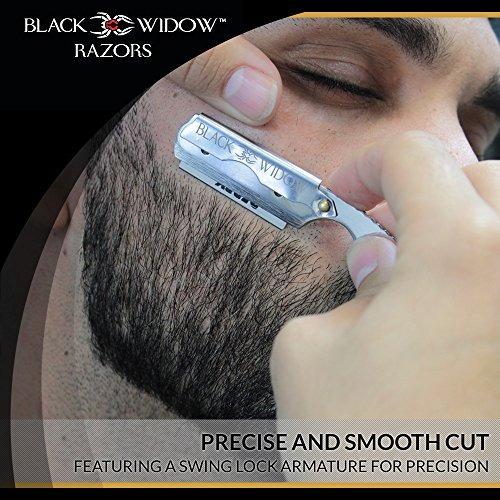 navaja de afeitar black widow executive brand razor lámina