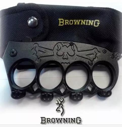 navaja manopla browning defensa personal con tienda