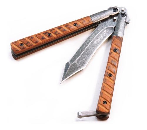 navaja mariposa cuchillo tanto balisong magnum boker orig
