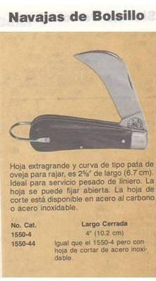 navaja pico de loro para liniero heavy duty klein tools usa
