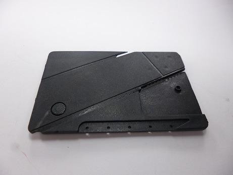 navaja  plegable de bolsillo tipo tarjeta de credito delgada