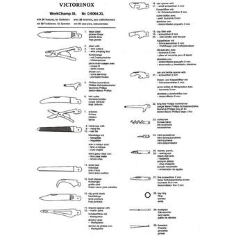 navaja suiza victorinox ganadera original de 30 servicios xl