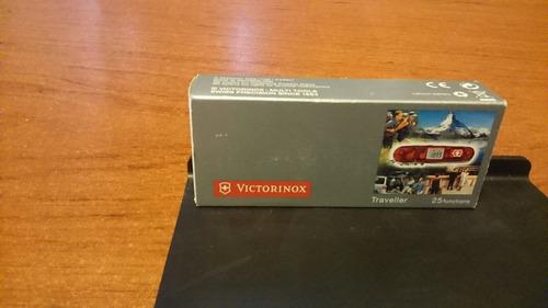 navaja victorinox 25 funciones, reloj, alarma, termometro