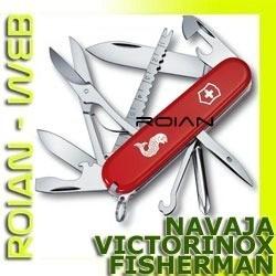 navaja victorinox fisherman original 17 funciones sacaescama