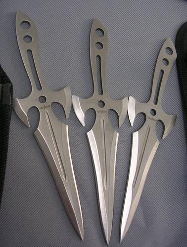 navajas cuchillas de lanzamiento fulltang c/filo a013 flr