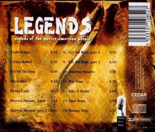navajo - legends - sounds of the native american people imp