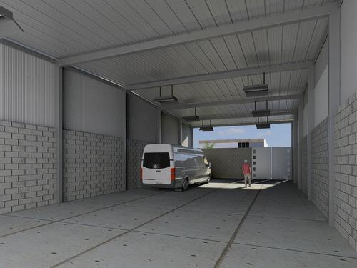 nave 220 m2 en periferico cdmx
