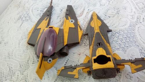 nave coleccion jedi starfighter 40cm star wars 2 en una 2008