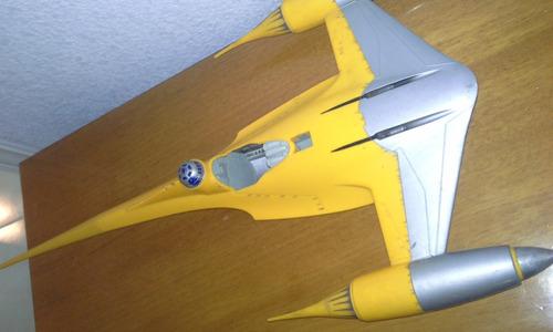 nave de luke skywalker con r2d2