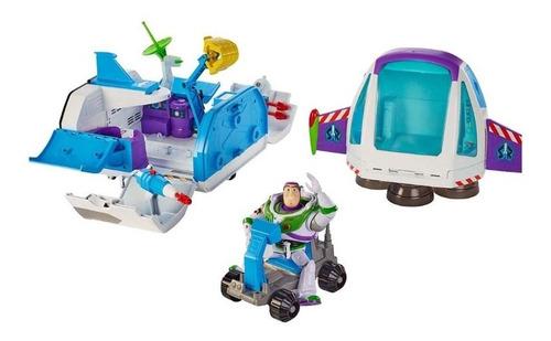 nave espacial buzz comando estelar toy story luces y sonidos