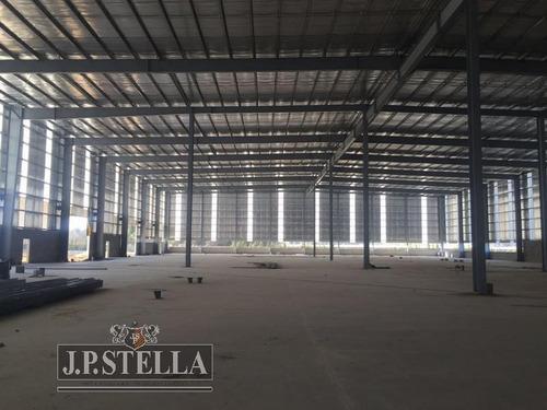 nave industrial 6400 m² cub   4000 m² playa de maniobras - 180 m² oficinas - polo industrial ezeiza
