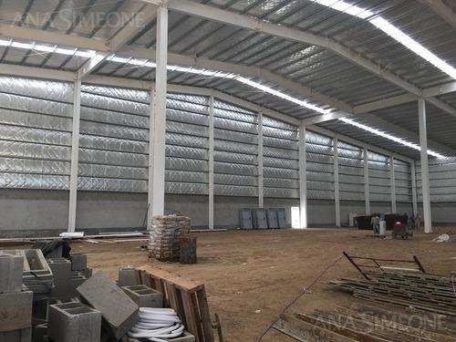 nave industrial a estrenar de 3200 m2 en parque industrial pilar