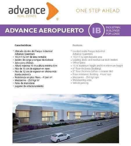 nave industrial aaa por aeropuerto