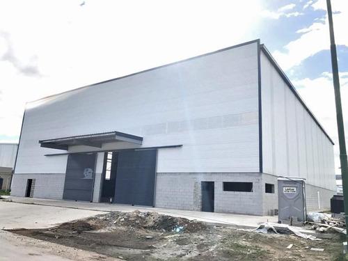 nave industrial en alquiler 1237 m2 en polo industrial ezeiza