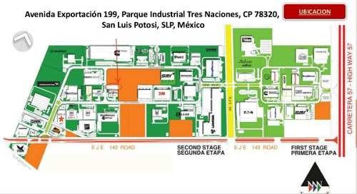 nave industrial en renta en parque tres naciones