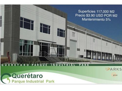 nave industrial en renta parque industrial querétaro piq