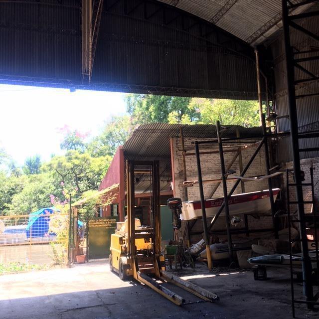 nave industrial - rincon de milberg