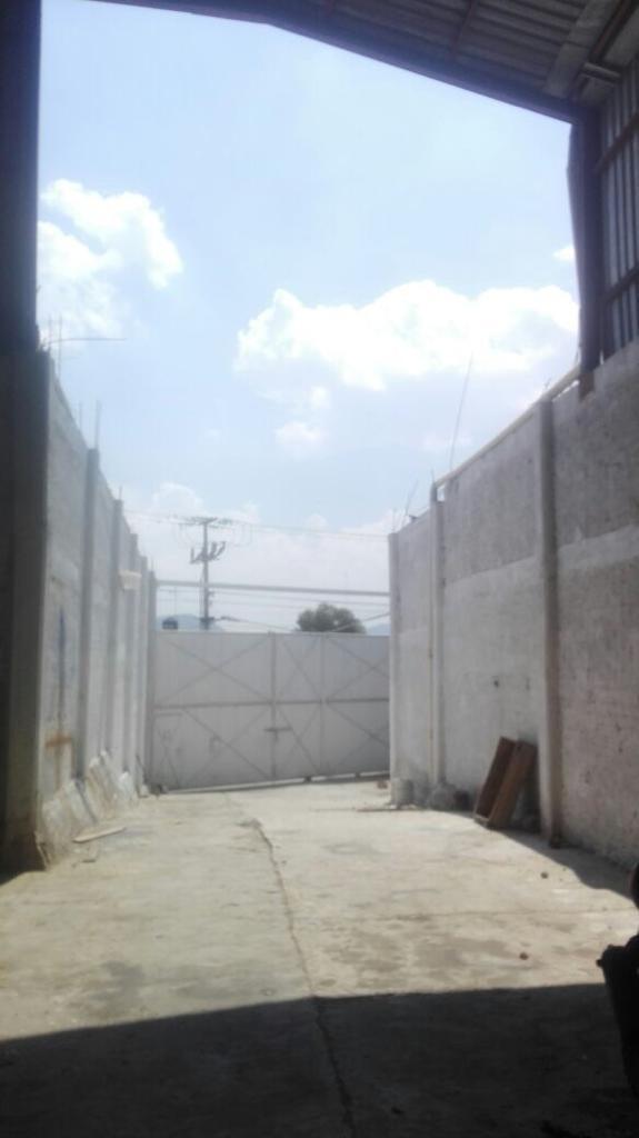 nave industrial techada 700m2 estado de méxico chimalhuacán.
