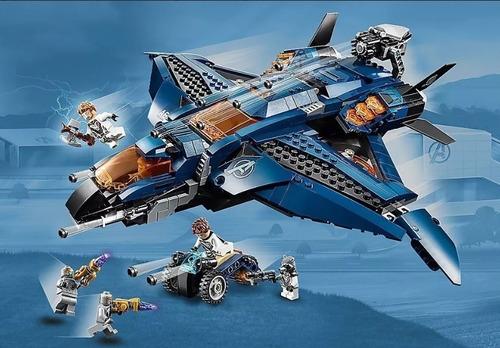 nave lego avengers ultimate quinjet endgame juguete marvel