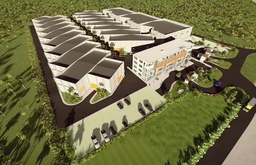 nave nueva de 300 m2  en renta en punta cana, bavaro.id-1290