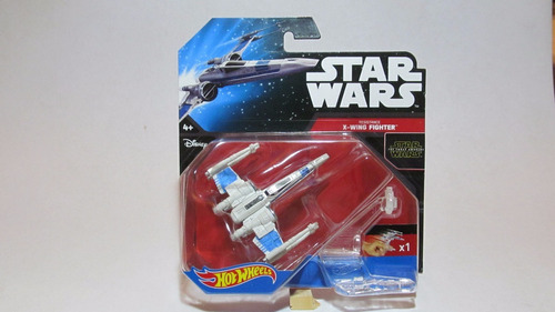 nave star wars  resistance x-wing fighter  hot wheels (hq)