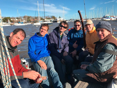 navegación paseo velero timoneles 3 horas - viaje a colonia