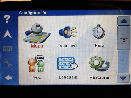 navegador auto portatil gps ingeomaps pantalla lcd 5