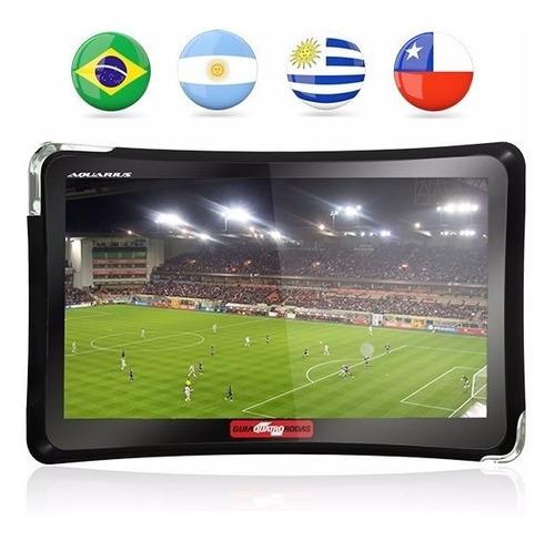 navegador gps 4.3 polegadas automotivo 4 rodas tv digital