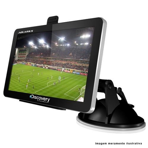 navegador gps automotivo 4.3 discovery alerta radar com tv