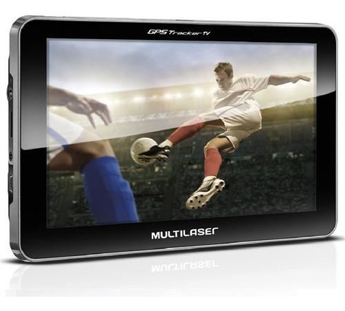 navegador gps automotivo 7 pol tv digital usb 2.0 multilaser