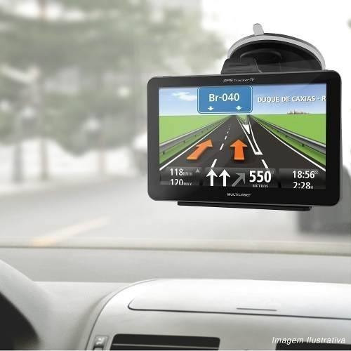 navegador gps automotivo multilaser tel 7 tv fm alerta radar