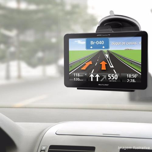 navegador gps multilaser tela 4.3 tv rádio fm e câmera de ré
