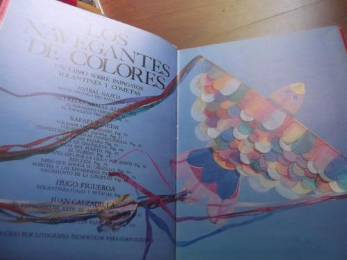 navegantes de colores libro sobre papagayos nazoa y otros