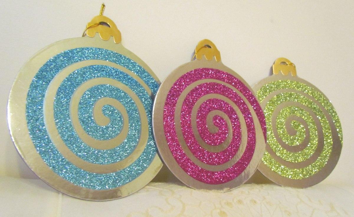 Navidad adornos decoracion esferas carton en - Bolas de navidad grandes ...