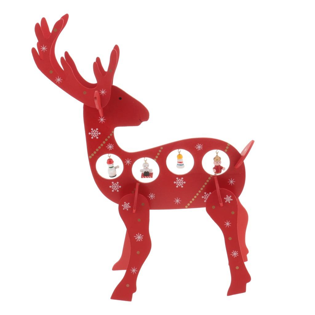 Navidad Alce Dolar Ciervo Mesa Adornos Vida Room Casa Parti - Ciervo-navidad