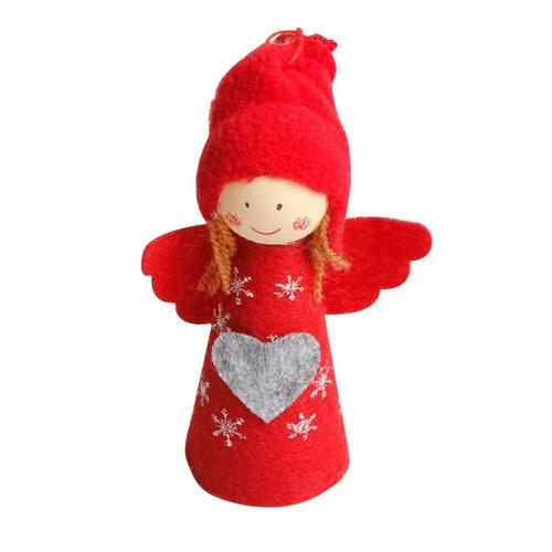 navidad ángel muñeca colgante adornos casa decoración nav