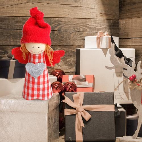 navidad ángel muñeca colgante adornos casa decoración navida