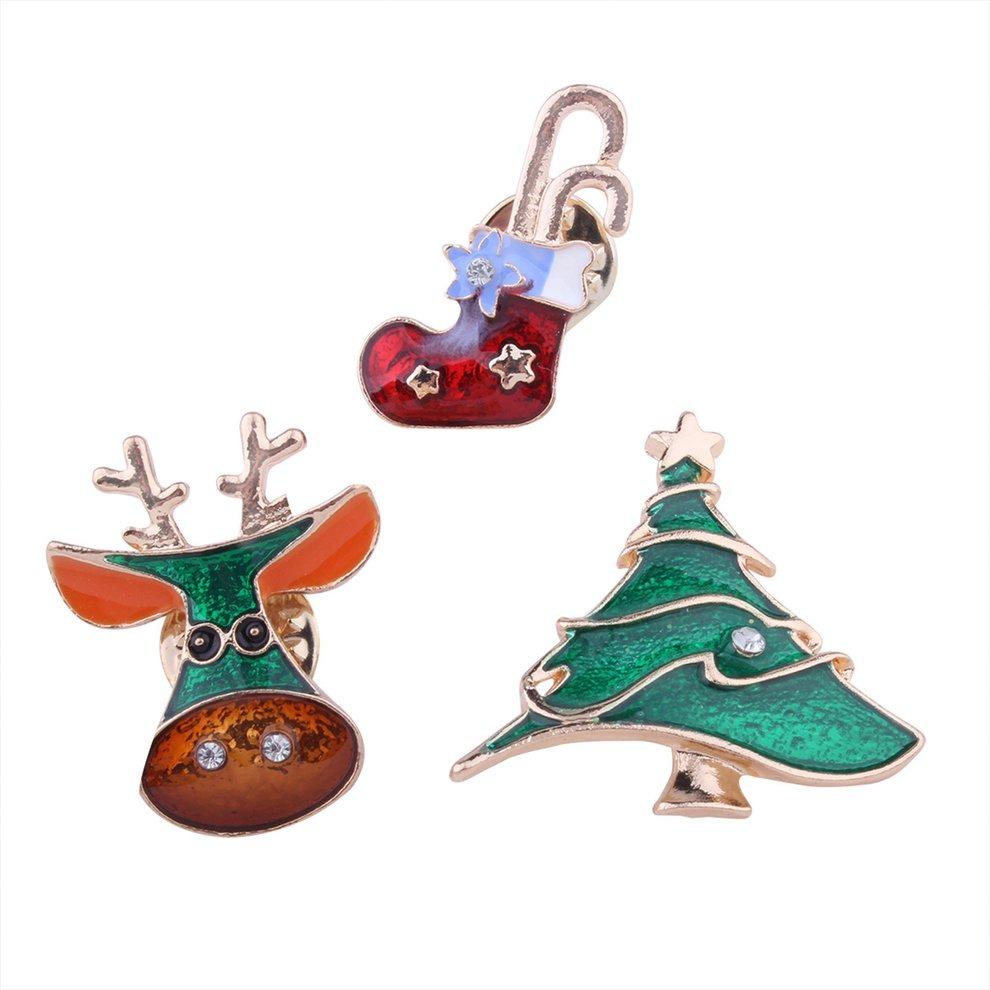 Dibujos De Navidad Creativos.Navidad Broche Creativo Regalo Vestido Accesorios Dibujos An
