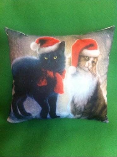 navidad con gatos