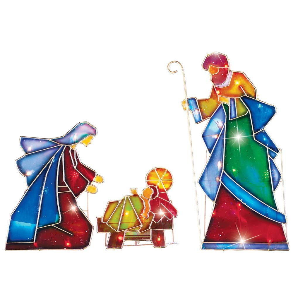1b91aeafb4a Adorno Navidad Decoracion Nacimiento Iluminado Grande Arco ...
