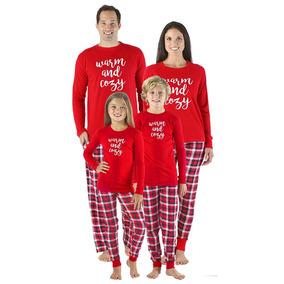 bfd1818eb6 Navidad Familia Bebé Pijama Conjuntos Letras Impresión Man
