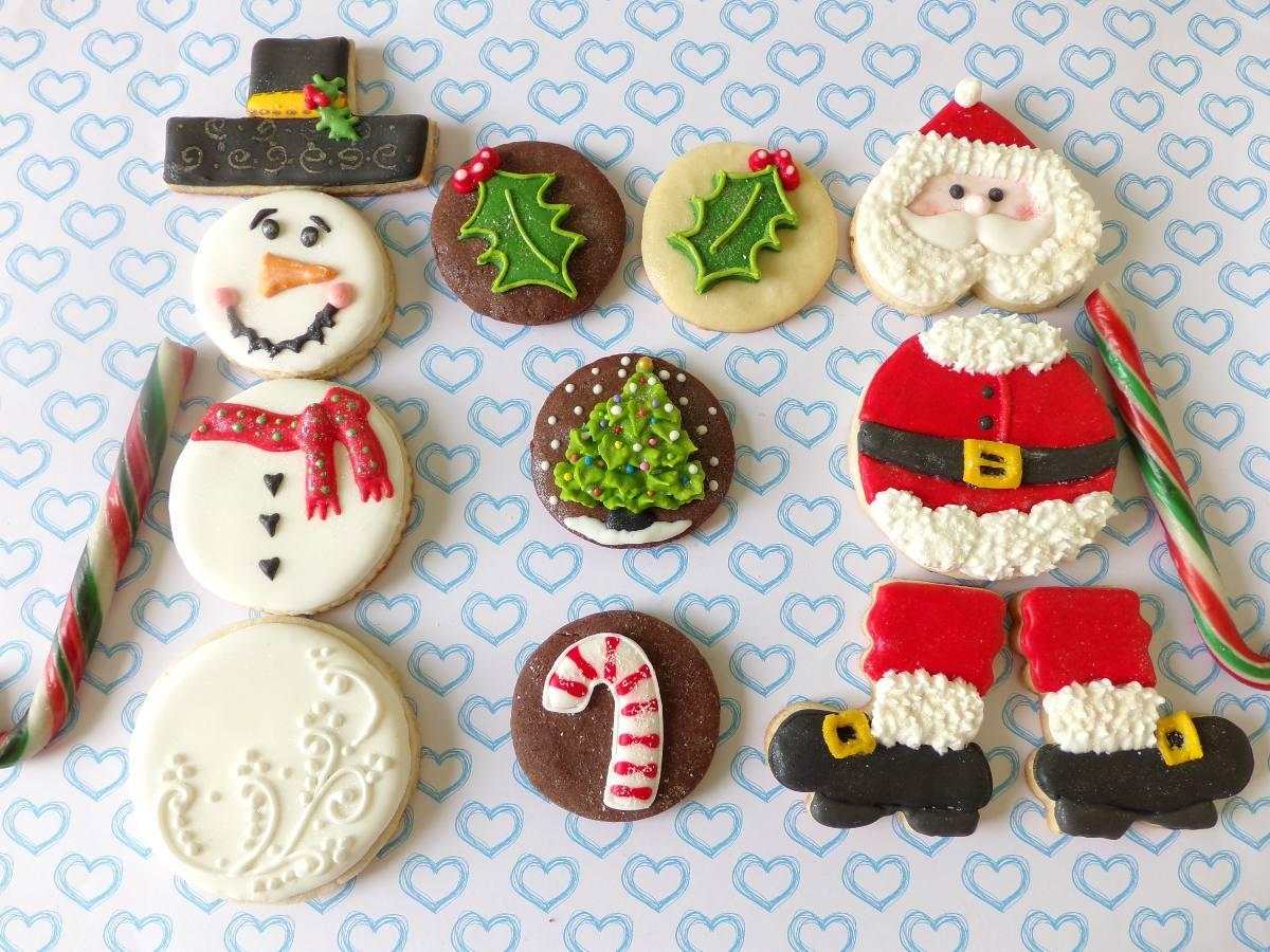 Navidad Galletitas Decoradas