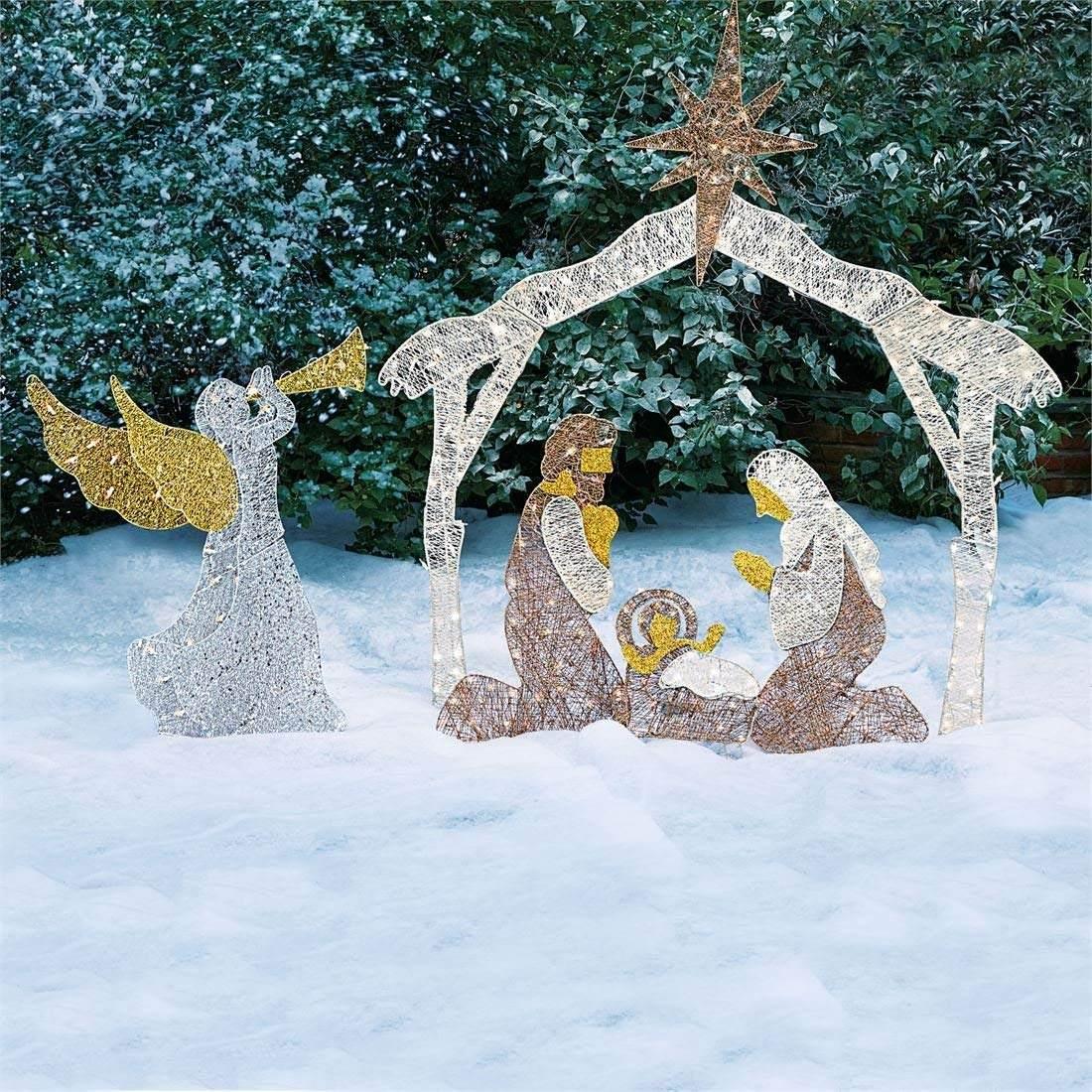 494df3b6a7c adornos navidad nacimiento grande iluminado decoracion exter. Cargando zoom...  navidad nacimiento decoracion. Cargando zoom.