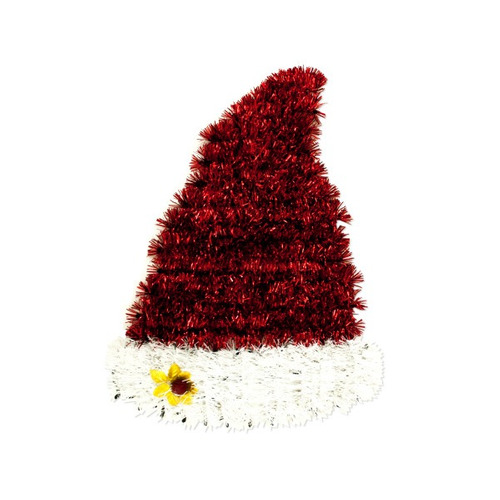 navidad papá sombrero pared decoración - caja de:12