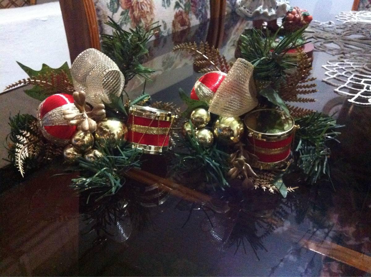 Adornos de navidad para arbolito guirnalda centro de mesa - Adornos mesa de navidad ...