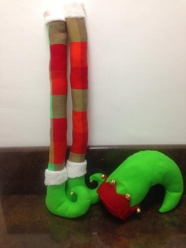 navidad piernas de duende para árbol  $490.00