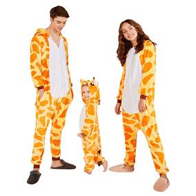 0bd4125af Navidad Pijamas De Familia Jirafa Para Padres E Hijos