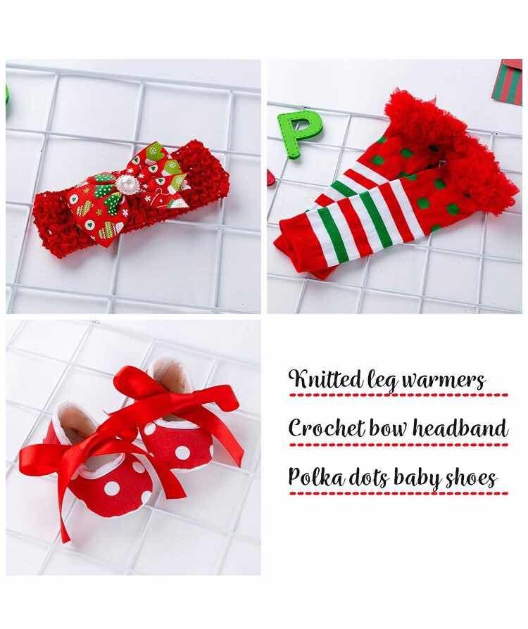 Navidad Ropa De Bebe Conjuntos 4 Pcs Original Envío Gratis ...